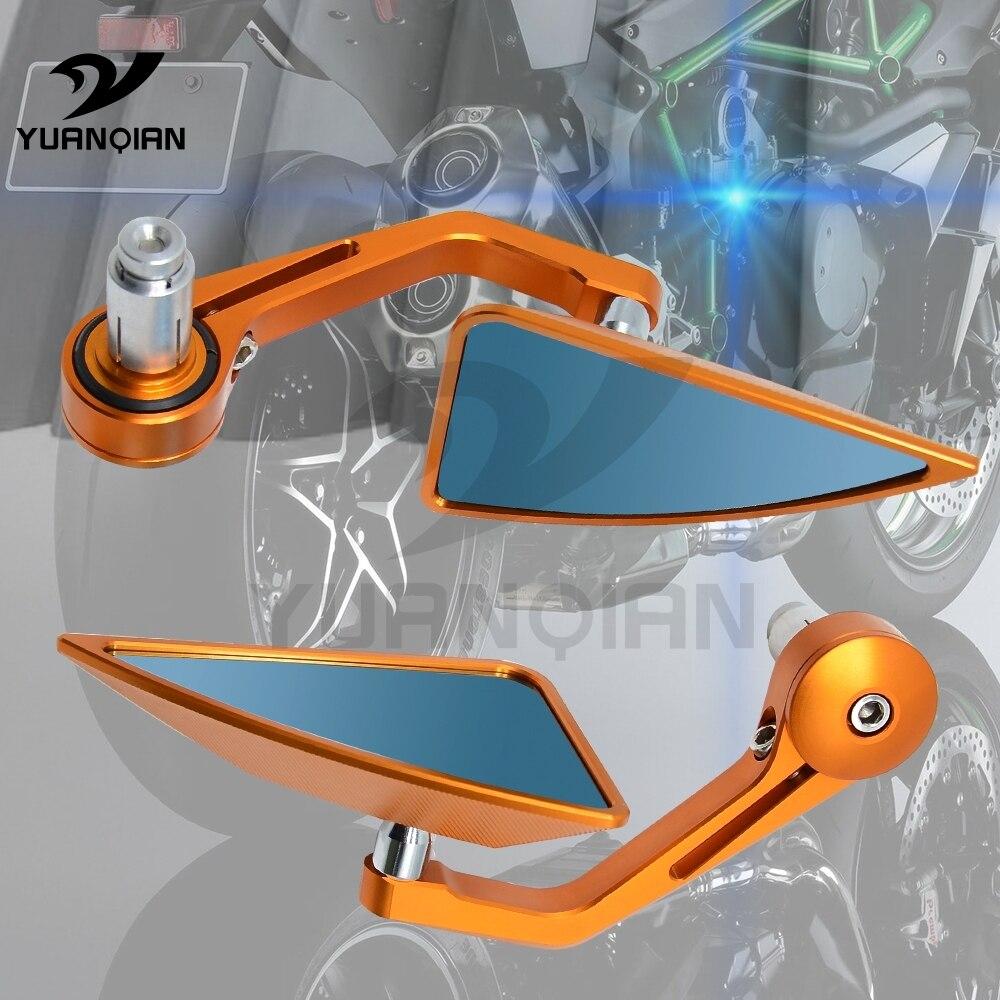 Rétroviseurs d'extrémité de guidon de guidon de rétroviseur de moto de 7/8