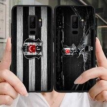 цена на Yinuoda Phone Case Besiktas Futbol Kulubu Yilmaz For Galaxy J2RIME J2Pro J4plus J6 Black Soft TPU Case For Samsung A6 A7 A8 A9