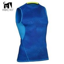 Камуфляжная футболка для фитнеса мужские топы Мужская Облегающая