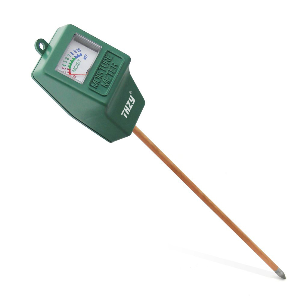 THZY Indoor/Outdoor Moisture Sensor Meter,soil water monitor, Hydrometer for gardening, farming mc7812 induction tobacco moisture meter cotton paper building soil fibre materials moisture meter