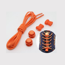 Sport Basketball No Tie Locking shoe laces sneaker elastic Children safe elastic for running solid colored Pink lock laces