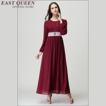 Turkish women clothing jilbabs and abayas islamic clothing for women dresses female muslim women clothing dress AA979