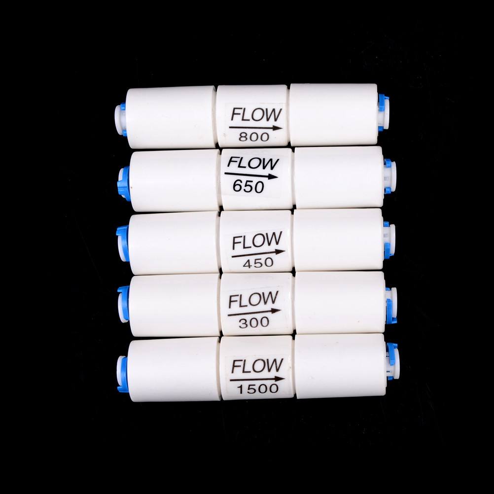 300CC-1500CC Water Filter Parts RO Flow Restrictor With 1/4
