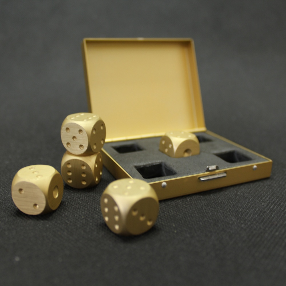 Whiskey Dice for Drinks Set