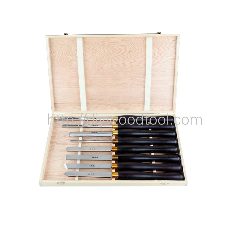 Quality wood chisels HSS Turning Chisel Tools SET with High Speed Steel Blade Quality wood chisels HSS Turning Chisel Tools SET with High Speed Steel Blade