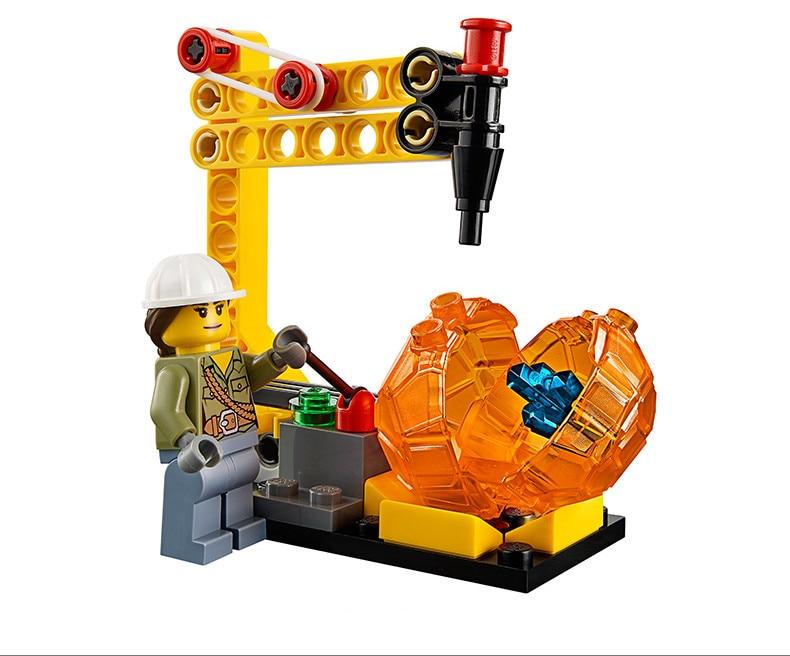 Kits Jouets City Lp Volcanique Construction Hélicoptère Lego 02004 Blocs Modèles Compatibles Avec Expédition 60123 De Briques fYb7gy6v