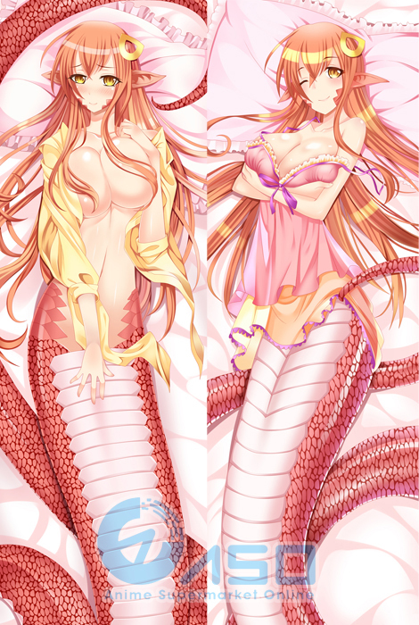 Buy Hentai Sexy 150cm Japanese Monster Musume Iru Nichijou Miia Kawaii Anime Dakimakura Pillow Cover Case Hugging Body Bedding