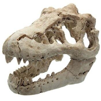 1 Pcs Dragon Resin Aquarium/Terrarium Decoration Crocodile Skull For Fish Tank Resin Ornament Decorate Your Aquarium