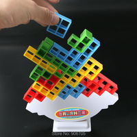 Pile Of Towers Balance Stacking Game Building Blocks Push The Tower Higher Training Balancing Fidget Educational