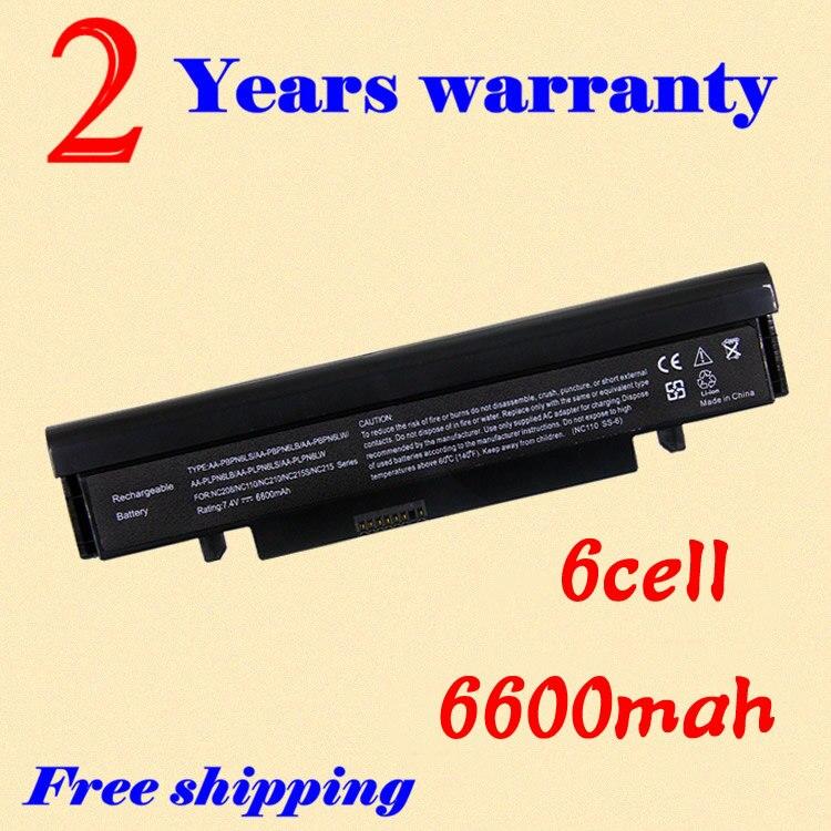 JIGU 7.4V Bateria Do Laptop AA-PLPN6LB AA-PLPN6LS AA-PLPN6LW AA-PBPN6LB AA-PBPN6LS AA-PBPN6LW Para SAMSUNG NC210 NC111 NC110 Series