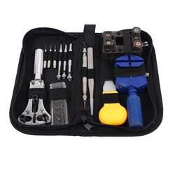 Высокое качество 13 шт. набор инструментов для ремонта часов Набор инструментов Набор часов Ремешок открывалка Нижняя открывалка набор