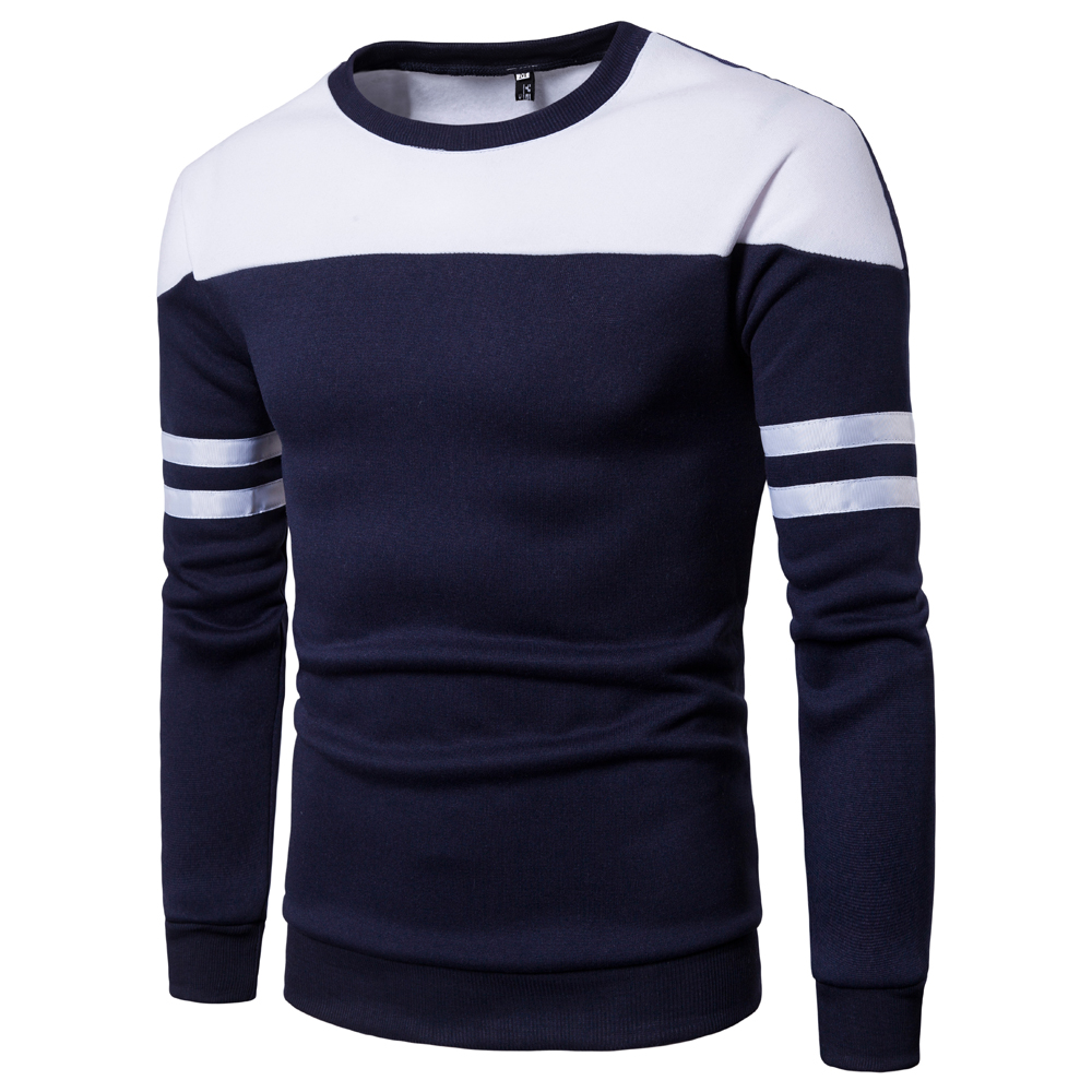 Pioneer camp thick warm cashmere sweater mens hot brand clothing spring winter sports shirt mens quality mens sportswear W28
