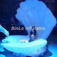 Хит продаж этап украшения Взрывная гигантские надувные оболочки led Море надувной оболочки люди могут сидеть в для свадебных мероприятий