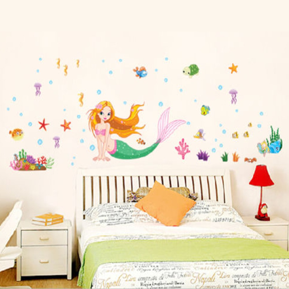 Little Mermaid Bedroom Decor Online Get Cheap Princess Room Designs Aliexpresscom Alibaba Group