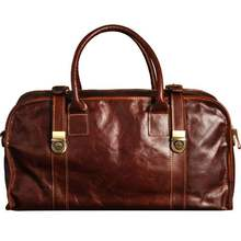 Luxury European Fashion Genuine Leather Mens Travel Bags Perfect Quality ManTravel Duffle Large Vintage Oil Wax Cow Bag