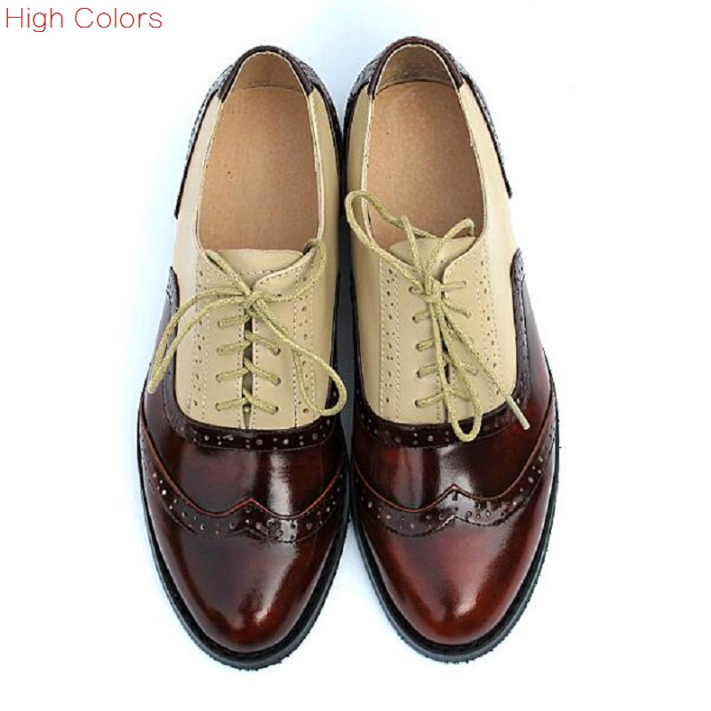 29 colors New 2015 Patent Leather Oxford Shoes for Women British Style Pointed Toe Women Brogues Oxfords Causal Flat Shoes Woman new 2015 autumn flat t strap oxford shoes for women vintage british style round toe low thick heels women oxfords shoes woman