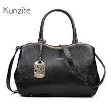 Kunzite New Women High Quality OL Handbags Fashion Ladies Casual Tote Bags Female Original Design Wallet Toiletry Sac A Main