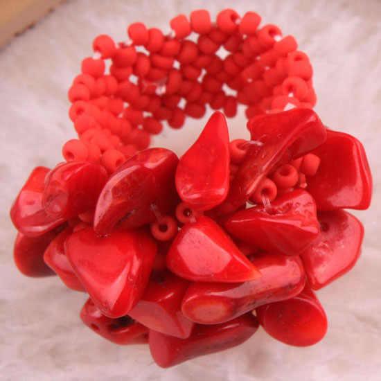 Charm ใหม่ 3X5MM Rose Pink ควอตซ์ Shell ฟลูออไรด์ Lapis lazuli สีแดง Coral ชิปลูกปัดแหวน 1PCS