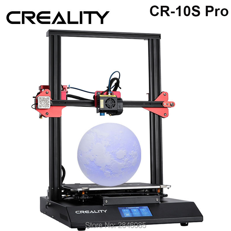 CREALITY 3D CR 10S Pro Auto Leveling Sensor Printer 4 3inch Touch LCD Resume Printing Filament