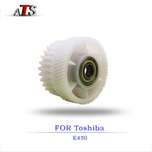 hot deal buy 3pcs/lot main motor gear for toshiba e 450 copier spare parts compatible with e450 printer supplies