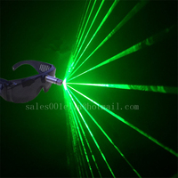 Hot Sale 532nm 80mw Green Laser Glasses For Christmas Halloween Decoration Laserman Glasses Stage Laser Show