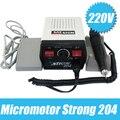 220 v Micromotor forte 204 Dremel motor de polimento, máquina de polimento de jóias, dental polonês freeshipping