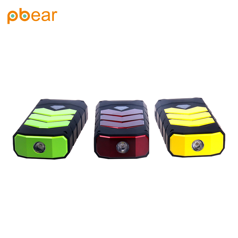 Pbear 12V Laptop Power Bank car engine power Jump Starter Mini Portable Emergency Battery Charger for booster Petrol Diesel Car