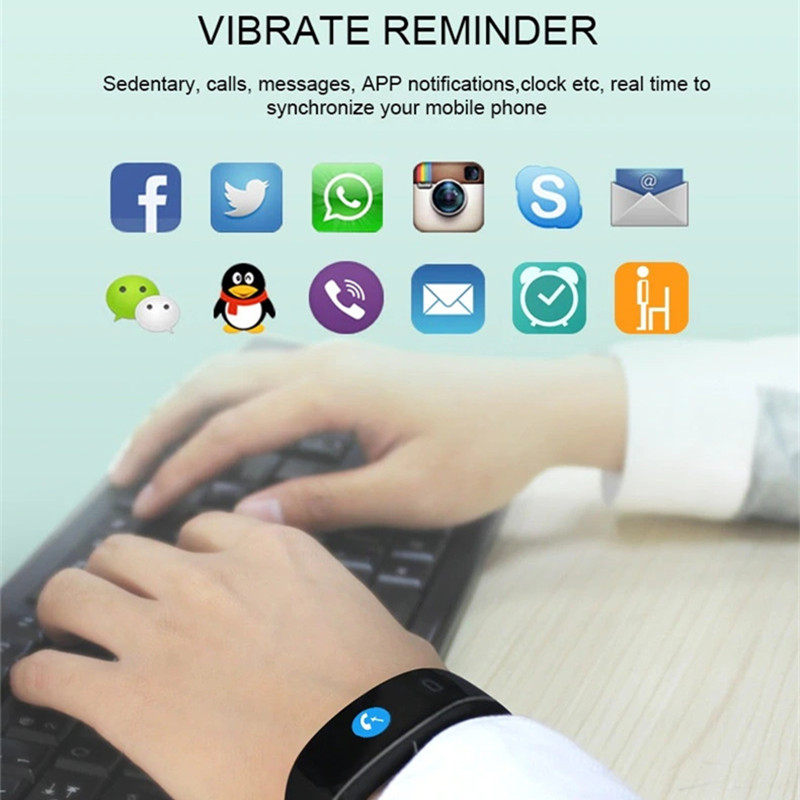 P3 Plus Smart Band PPG+ECG Accurate Heart Rate Monitor Blood Pressure  Monitor Watches H66 Plus Bracelet pk Fitbits