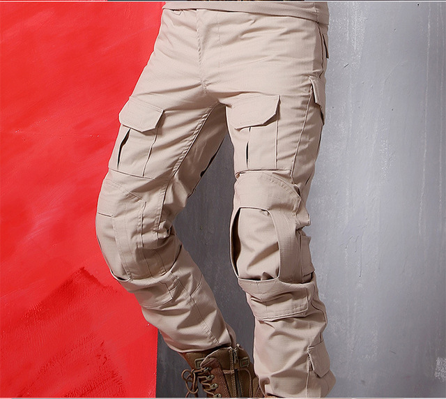 Aliexpress.com : Buy High End Combat Camouflage Pants Solid Cargo ...
