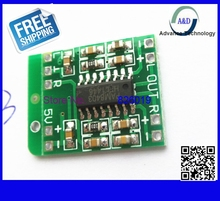 1pcs free shipping PAM8403 Audio Module DC 5V Mini Class-D digital amplifier board efficient 2.5 to 5V USB power supply
