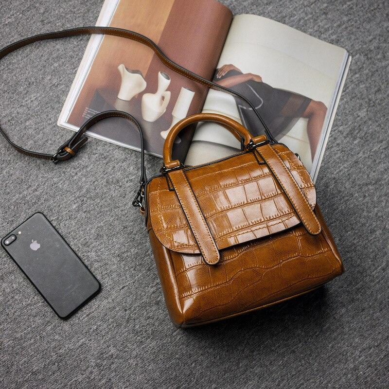 100% Genuine leather Women handbags 2017 new female styling fashion Crossbody Shoulder Handbag Crossbody Bolsa Femininas C338 женские блузки и рубашки hi holiday roupas femininas blusa blusas femininas
