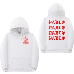 I Feel Like Paul Pablo Kanye West sweat homme hoodies men Sweatshirt Hoodies Hip Hop Streetwear Hoody pablo hoodie 6
