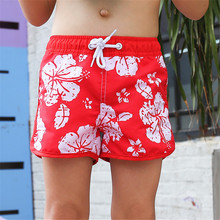 New Model Kid Boys Red Beach Shorts 2-14 Y Baby Boy Swimwear Children swim Trunks Kids Bathing Suit  child summer beach wear