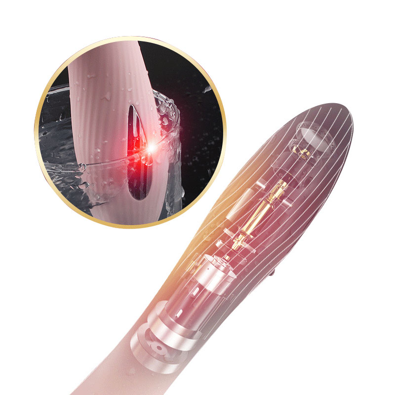 Double function electro shock 7 speed vibration silicone G spot vagianal dildo massager AV Clitoris Massager Sex Toy for women in Vibrators from Beauty Health