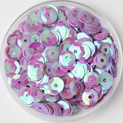 5000 pcs/lot (About 60gram) Sewing Accessories 6mm <font><b>Round</b></font> <font><b>Cup</b></font> AB 56#Light <font><b>Purple</b></font> Plating <font><b>Sequins</b></font> for Crafts Scrapbook &Sewing Diy