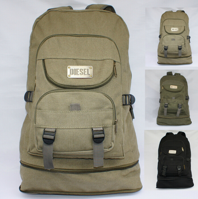 15c0197ee919 ETN BAG hot sale popular high quality men canvas backpack male fashion big  travel backpack man large capacity travel bag