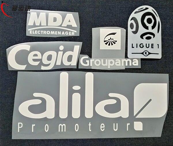 1617 Lyon longe branco patrocinador patch + França League 1 OL remendo do  remendo futebol frete grátis em Apliques de Home   Garden no AliExpress.com  ... 4b6cc7061f5fd