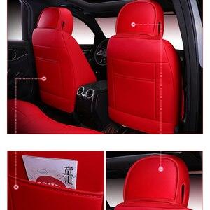 Image 4 - Capa de acessório para banco automotivo, capa para audi a3 8p 8l sportback a4 a6 a5 q3 q5 q7 para assento do veículo