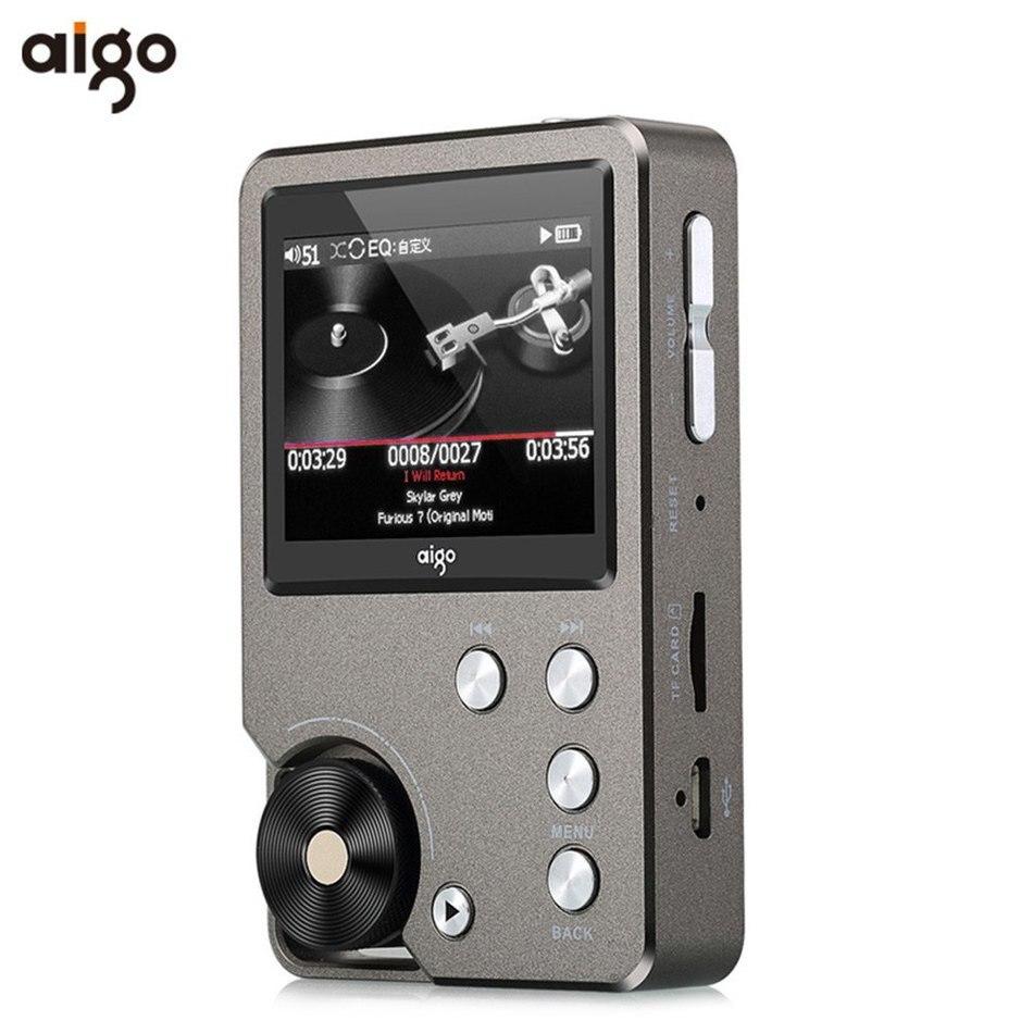 Unterhaltungselektronik Diskret Universal Premium Grau Aigo 105 Zink-legierung Hifi Enthusiasten Verlustfreie Musik 320x240 Auflösung 2 Zoll 1500 Mah 8 Gb Mp3 Player Exzellente QualitäT