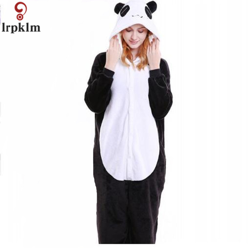 kigurumi adults panda Pajamas women men Pyjama unicorn pajamas Halloween Anime Kigurumi Adult Flannel Cartoon cute SY845 ...
