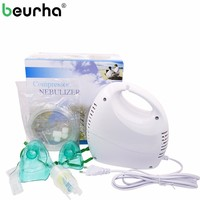 Health Portable Adult Children Massage Asthma Nasal Atomizer Inhaler Nebulizer Medical Respiratory Ultrasonic Air Compressor