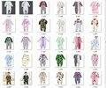 2016 hot Retail Footies bebê pijama do menino pé recém-nascido capa pijamas 1 pçs/lote bebê