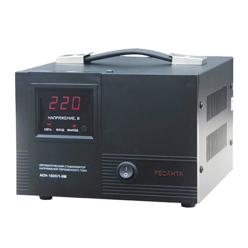 Voltage stabilizer RESANTA ASN-1500/1-EM voltage