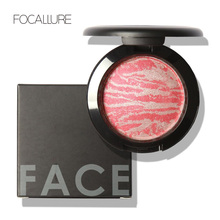 Rosalind Face Makeup Baked Blush Palette Baked Cheek Color Blusher Blush