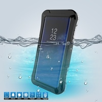 DULCII Cover For Samsung Galaxy Note 8 IP68 10M Underwater Waterproof Case Dirt Dust Snow Proof
