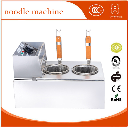 commercial cooker stainless steel double heads pasta cooker electric noodle machine vosoco commercial electric pasta cooker electric noodle machine 2000w stainless steel pasta boiler cooker electric heating furna