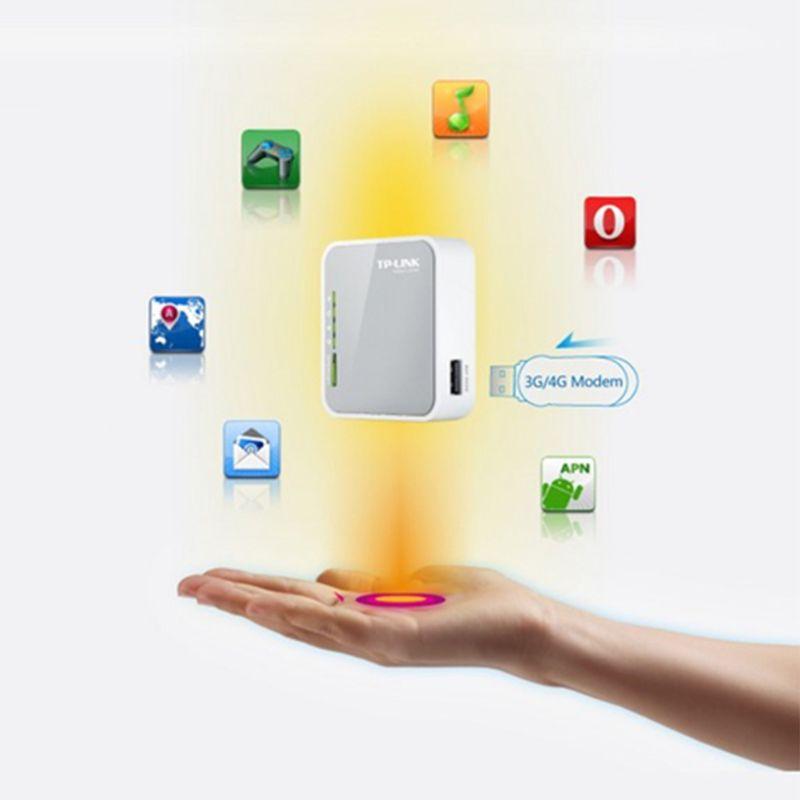 UK Plug TP-LINK TL-MR3020 V3 Portable 3G 4G USB Modem sans fil N WiFi 300 Mbps routeur répéteur