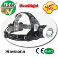 light head CREE xm-I t6 Headlamps Lantern rechargeable head torch+2 x18650 4200mah Rechargeable Battery+Adopter flashlight head