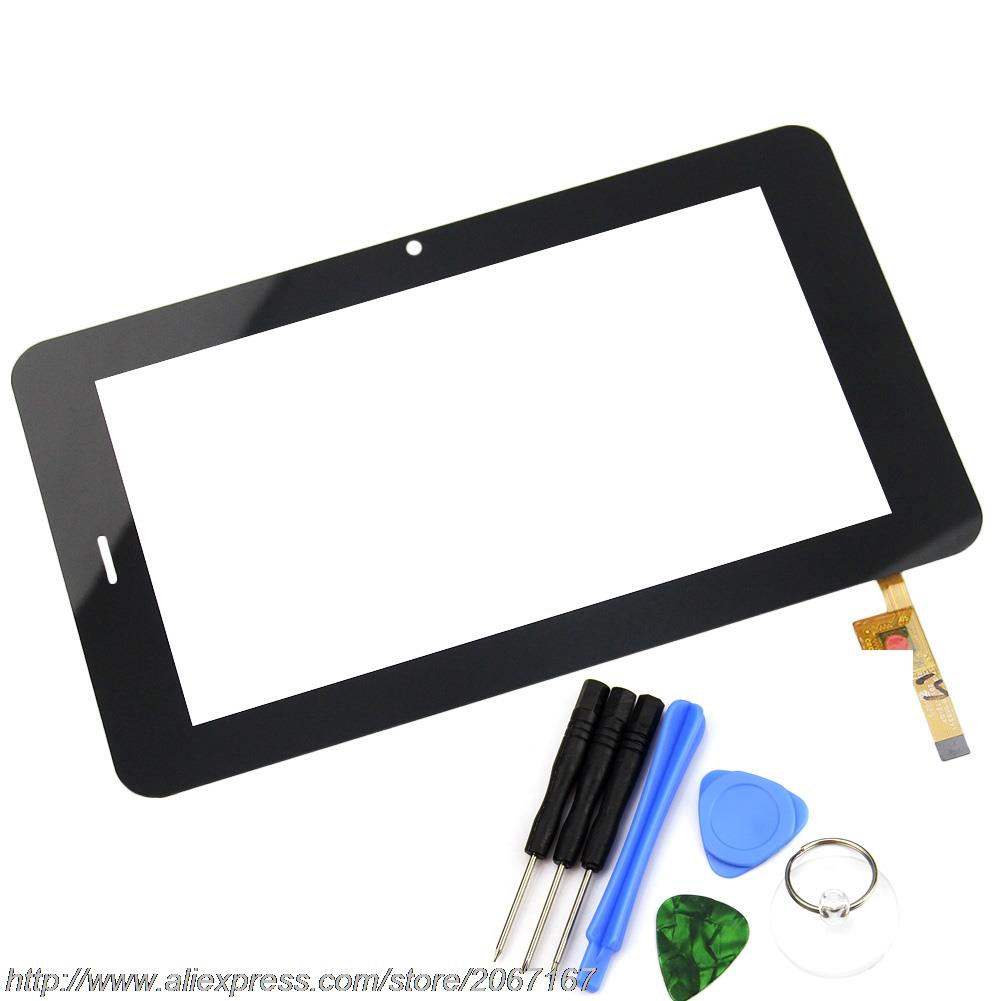 New Black 7 inch Touch Screen for PRESTIGIO MULTIPAD 7.0 Prime 3G PMP7170B3G Digitizer Glass Replacement Free Shipping for new mglctp 701271 yj371fpc v1 replacement touch screen digitizer glass 7 inch black white free shipping