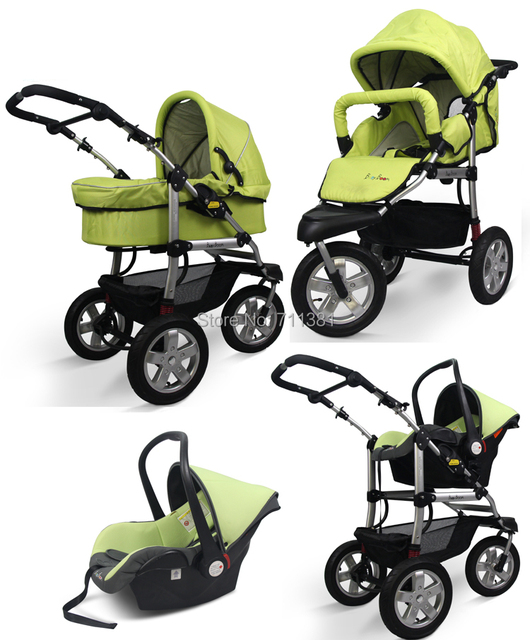 Stroller Car Seat,Newborn Pram 3 Wheels Baby Stroller 3 in 1 ...